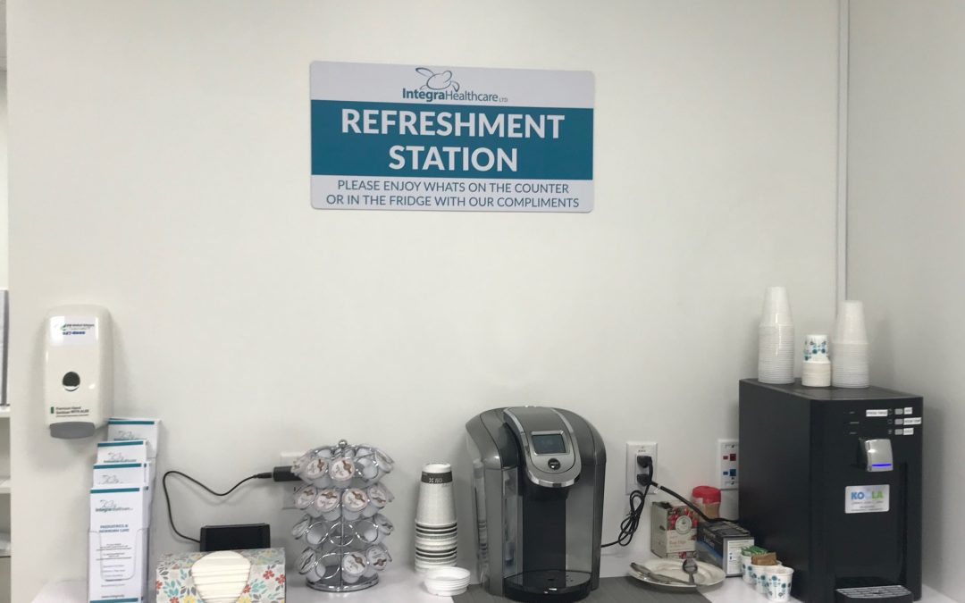 Refreshment Station is a Go